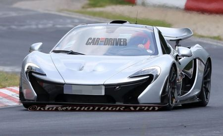 "McLaren P1 XP2R ""Prototype"" Spied—All We Can Say for Certain is It's Silver"