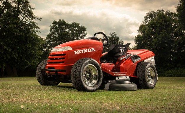 Mean Mower? More Like Masochistic Mower: Honda U.K. Builds 130-mph Ride-On Lawn Tractor