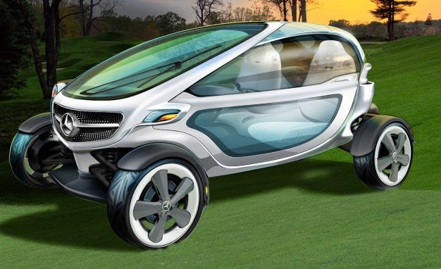 Mercedes-Benz Creates Ultra-Luxurious, Ultra-Cool Golf Cart Concept