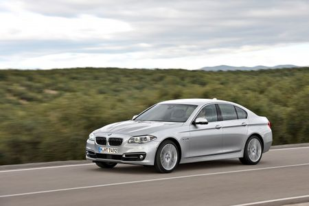 Face-Lifted 2014 BMW 5-series Arriving at Dealerships, Including New Diesel 535d at $57,525