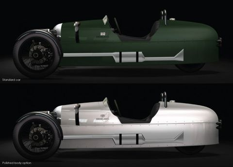 Morgan Reveals Special Edition to Celebrate Britain's Historic Brooklands Circuit