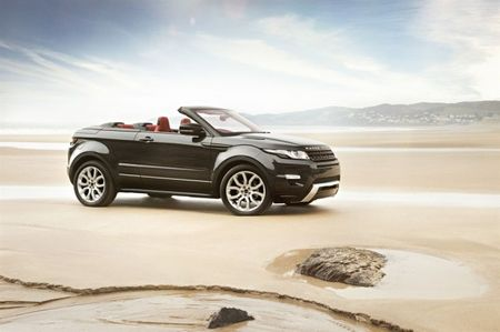 Land Rover Green Lights Evoque Convertible for Production, Report Says