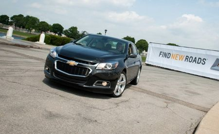 2014 Chevrolet Malibu 2.5L Priced from $22,965, Eco Hybrid from $26,670
