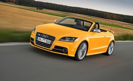 Audi Celebrates Half a Million TTs with 500 Special-Edition TTS Competition Models