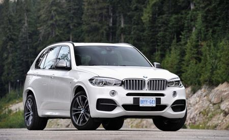 2014 BMW X5 M50d Diesel: Same Burly Tri-Turbo Engine, New X5 Body, Still Not for America