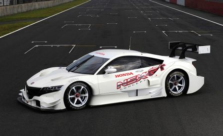 Honda Gets NSXy, Debuts NSX Concept-GT Race Car Bound for Super GT Series