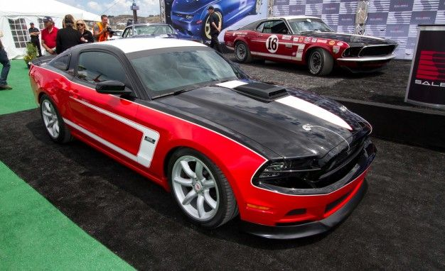 Saleen Heritage Collection Trio Debuts in Monterey with George Follmer Mustang [2013 Pebble Beach]