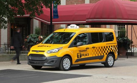 Meter's Running! Ford Introduces Taxi Variant of 2014 Transit Connect Van