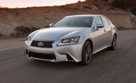 Lexus Adds Eight-Speed Auto to Rear-Drive 2014 GS350