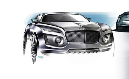 Bentley SUV to Receive W-12 Power, Seating for Seven