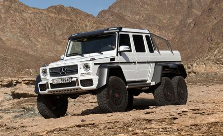 Mercedes-Benz to Produce Limited Run of G63 AMG 6x6s—Just Not for America