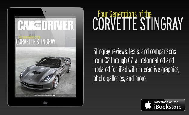 Celebrate Four Generations of Chevrolet Corvette Stingray with Our Definitive iBook
