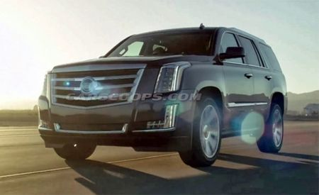 2015 Cadillac Escalade Photos Leak Online