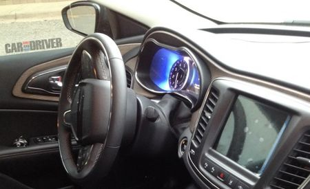 2015 Chrysler 200 Interior Bits Revealed in New Spy Photos