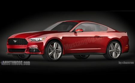 Supposed CAD-Based Rendering of 2015 Ford Mustang Appears Online, Could Be Real Deal