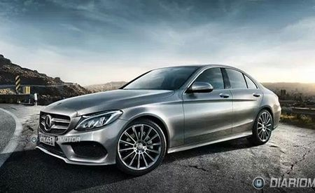 First 2015 Mercedes-Benz C-class Photos! Predictably, It Looks Like an S-class