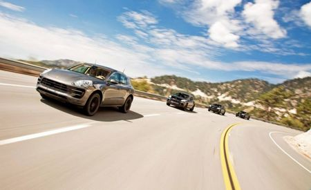 Porsche Provides Internet with Images of Macan Mules