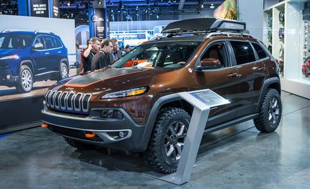 Jeep Cherokee Trail Carver: Going Where No Crossover's Gone Before [2013 SEMA Show]