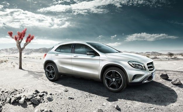 Mercedes Launching GLA-class Edition 1—Months Before the GLA Goes on Sale