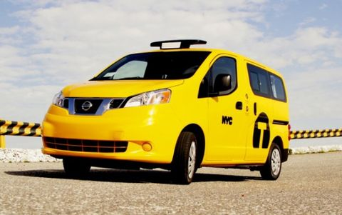 Judge Says NYC Can't Force Taxi Companies to Buy Nissan NV200s