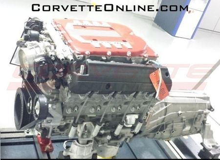 This Could be Chevrolet's Supercharged V-8 for the Corvette Z07—Or Not