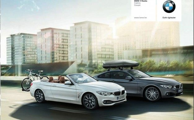 BMW 4-series Convertible Photos Leaked (Bikes Not Included)