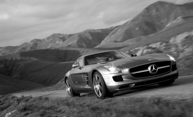 angeles benz stateside los on sales auto news photo made debut mercedes at with its show ago sls s the to after years bid farewell amg l beginning frankfurt a just four in three
