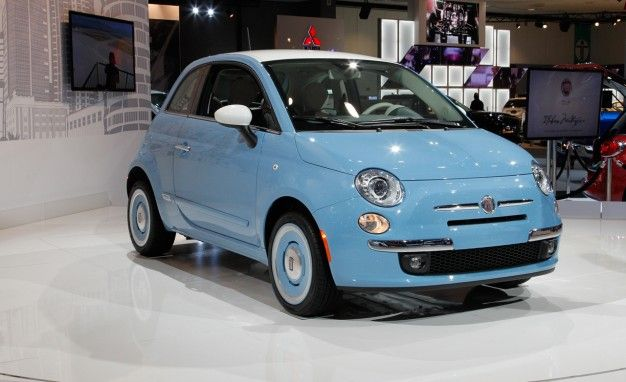 Back to the Future: Fiat Celebrates the Fifties with 500 1957 Edition [L.A. Auto Show]