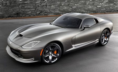 Snakes Unplain: SRT Reveals Ultra-Rare Viper GTS Anodized Carbon Special Edition [2013 L.A. Auto Show]