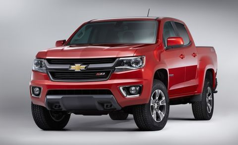 2015 Chevrolet Colorado Gifts the Work Crowd a Six-Speed Manual