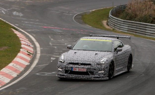 """Godzilla's 'Ring: Nissan Claims Nürburgring Lap Record With 2015 GT-R NISMO with """"Track Options"""""""