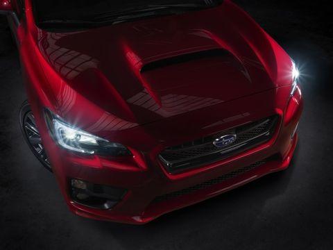 First Image of 2015 Subaru WRX Revealed, Looks Pretty Much Like a Hot Impreza [2013 L.A. Auto Show]