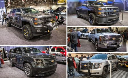 Chevrolet Brings a Gaggle of Silverados, Suburbans, and Tahoes to Vegas [2013 SEMA show]