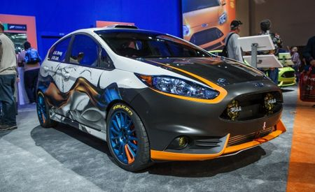 Wilding Out in a Major Way: Ford Totes Five Custom Fiestas to Sin City [2013 SEMA Show]