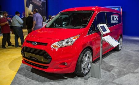 Now You're a Van, a Vanny, Vanny Van: 10 Awesome Ford Transit Connects for SEMA [2013 SEMA Show]