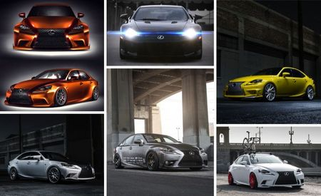 Lexus Tarts Up a Handful of New ISs—and an LFA! [2013 SEMA Show]