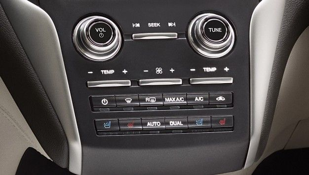 Lincoln Brings Back Buttons and Knobs, Ditching Capacitive Touch