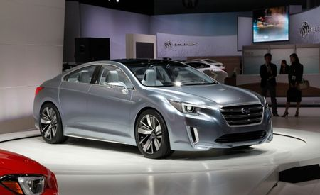Striking Subaru Legacy Concept Announced, Lays More Bricks for Brand's Aesthetic Reinvention [2013 L.A. Auto Show]