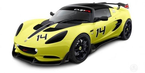 The Lotus Elise S Cup R Is the Track Star You Can't Drive Home