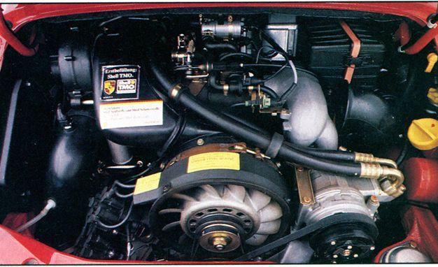 flat sixy the evolution of porsche 911 engine size technology and rh caranddriver com 18 Cylinder Engine Air Cooled Flat Design Flat -Six Engine