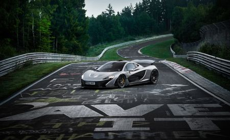 McLaren Whips the P1 Around the Nürburgring in Less than Seven Minutes, But Doesn't Offer Specific Time