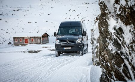 Mercedes Has Just the Sprinter for the Snowbelt's Delivery Men