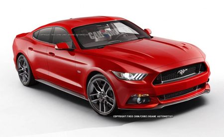 Want to Know What a 2015 Mustang Sedan Would Look Like?