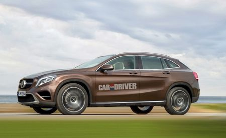 Mercedes-Benz Contemplating Adding GLK-Based Five-Door Coupe to Crossover Lineup