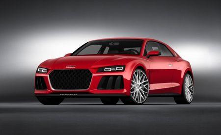 Audi Sport Quattro Laser Light Concept: Maintaining Audi's Lighting Leadership [2014 CES]