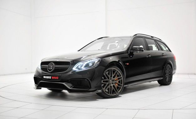 Brabus Tunes Mercedes E63 AMG Wagon to 850 Horsepower—Where Do We Sign?