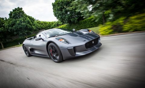 Next Bond Villain May Drive Jaguar's Jaw-Dropping C-X75
