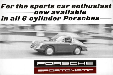 Shift This: A History of Porsche's Sportomatic, Tiptronic, and PDK Transmissions