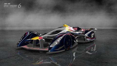 Red Bull Has Three New Adrian Newey–Designed Racers for Gran Turismo 6