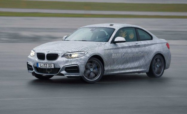 Drift Baby, Drift: BMW's Countersteering Stability Control Coming Soon [2014 CES]